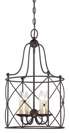South Shore Decorating: Savoy House Lighting 3-4070-4-13 Seneca Traditional Foyer Light SVH-3-4070-4-13