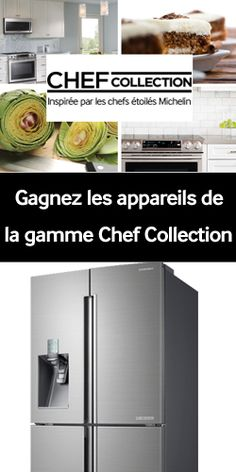 Gagnez 4 électros Samsung Chef Collection. Fin le 5 aout.  http://rienquedugratuit.ca/concours/samsung-chef-collection/