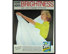 Surf Brightness Laundry Room Decor Wall Art by thevintageshop