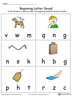Number Sequences Worksheet Excel Practice Beginning Letter Sound Worksheet  Letter Sounds Phonics  Add Worksheets with Nursery Alphabet Worksheets Word Beginning Letter Sound Ag Words In Color Rhyming Words Worksheets Pdf
