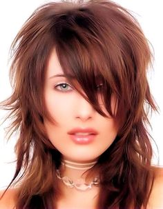 Images of Long Hairstyles with Bangs for Women. via http://www.hairstylescollections.com