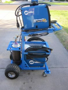 Metal working is great for all ages. From newcomer to amateur, search for ideas and recognize how for all things metal working. Here are a few metal working strategies. Find out about metal working. Welding Cart, Welding Table, Metal Welding, Diy Welding, Mig Welder Cart, Metal Tools, Metal Projects, Welding Projects, Welding Ideas