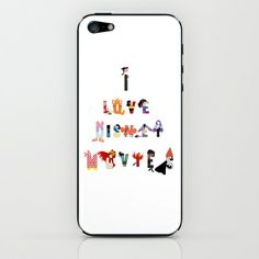 characters in a message.. iPhone & iPod Skin by studiomarshallarts - $15.00