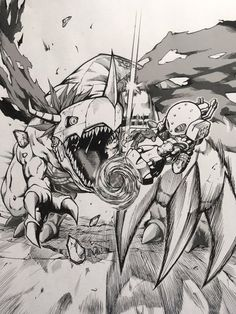 Digimon World : Title Fight Digimon Adventure Tri, Digimon 02, Digimon Tattoo, Manga Anime, Anime Art, Digimon Digital Monsters, My Pokemon, Creature Feature, Anime Shows