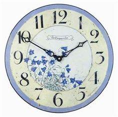 Bluebells clock