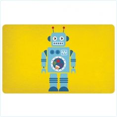 Melamin-Brettchen Roboter