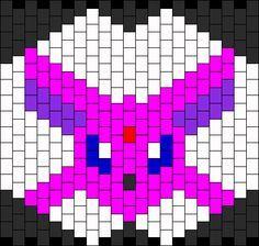 Espeon Pokemon Mask bead pattern