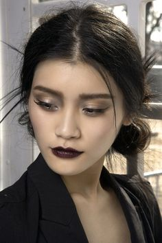 Backstage @ Dior 2010. #nye #makeup #inspo