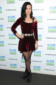 katy perry red velvet dress - Google Search