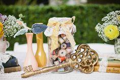 Rustic Newport Beach Wedding - Key to my heart