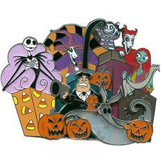 Your WDW Store - Disney Jumbo Pin - Surprise - Jumbo - The Nightmare Before Christmas