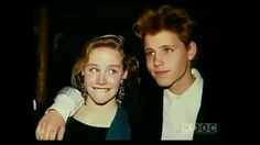 Amanda Peterson and Corey Haim.