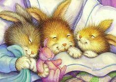Sleepy time bunnies ...