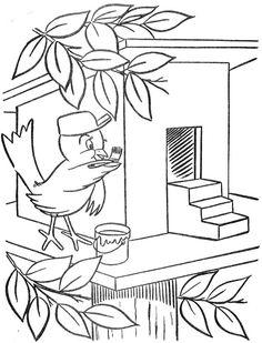 Kleurplaat Vogelvoederplek Welcome To Dover Publications