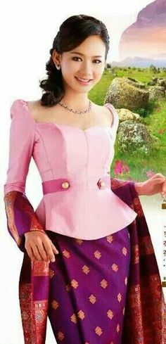 Lao silk - top