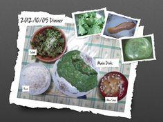 For Dinner on 05/Oct/2012