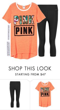 """Me right now..."" by graciegirl2015 ❤ liked on Polyvore featuring NIKE"