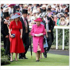 Princess Eugenie of York and Queen Elizabeth II at Royal Ascot 2017 at Ascot Racecourse on 22 June, 2017 in Ascot, England. . . . #HerMajesty #TheQueen #ElizabethII #ERII #QueenElizabethII #HouseofWindsor #RoyalFamily #BritishMonarchy #TheBritishMonarchy #GodSaveTheQueen #ERII2017 #PrincessEugenie #PrincessEugenieofYork via ✨ @padgram ✨(http://dl.padgram.com)