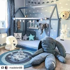 """778 Likes, 15 Comments - L♥️VE RUISLIP (@loveruislip) on Instagram: """"How beautiful is this boys room? I absolutely  the colours, the accessories and the lighting. It's…"""""""