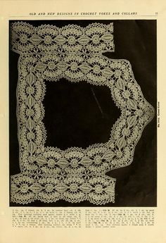 Old and new designs in crochet work : yokes & c...