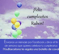 ¡Feliz cumpleaños Ruben! #YouBarcelona