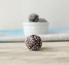 Chocolate Almond Date Balls