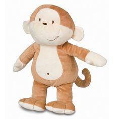 Kids Preferred Asthma & Allergy Friendly Floppy Monkey Plush Toy