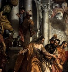 Sts Mark and Marcellinus Being Led to Martyrdom (detail) c. 1565 Oil on canvas San Sebastiano, Venice