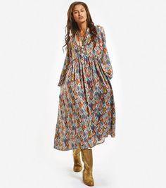 e7019a78a15 Souleiado - Robe longue ample