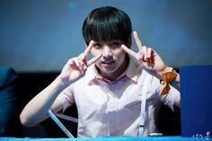 BTS @ 2015 Fansigning 3rd mini album 화양연화 pt.1 at Cheongnyangni (Hapjeong ArtHall) -- 150517
