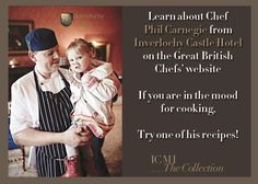Chef Phil Carnegie, Inverlochy Castle Hotel