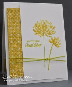 Do I need a stampamajig to line the flowers up for the double stamping? DM