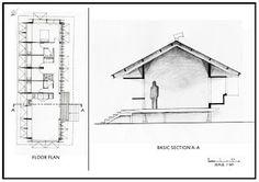 Glen Murcutt - Markia-Alderton house Diagramming