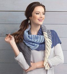 For the beginning crocheter or experienced ones who enjoy simple projects, the 8 fabulous designs in Wraps Made Easy from Leisure Arts offer a variety of shapes and styles. All are for Easy skill level, using yarns ranging from super fine weight to medium weight.  Click here to order this book: http://www.maggiescrochet.com/products/wraps-made-easy