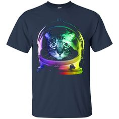 Cat Astronaut Cool Cat T shirts Hoodies Gifts For Cat Lovers Perfect St Patrick's Day Shirts And Hoodies - Cool St Patrick's Day Clothing For Women And Men Perf