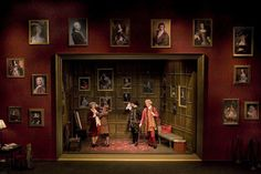 The School for Scandal. College of Charleston Theatre. Scenic design by Charlie Calvert.