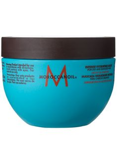 Moroccanoil Intense Hydrating Mask Review: Hair Care: allure.com-Even after just one use (and without blow-drying), hair feels softer, smoother, shinier, even thicker. And the scent? Intoxicating.