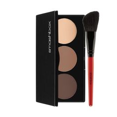 You don't need to have a personal photo retoucher on call for a sculpted jawline and killer cheekbones—you just need this kit. With three powders to contour, bronze, and highlight, and an angled brush for easy blending, this foolproof cult favorite makes it easy to play up your best assets...no Photoshop required.