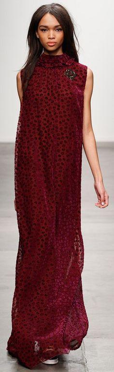 : this Karen Walker dress is so matronly...but I am digging it...guess I am officially mature: