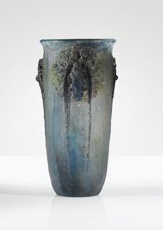 A PÂTE DE VERRE VASE BY FRANÇOIS-EMILE DÉCORCHEMONT, DESIGNED IN 1913, EXECUTED BEFORE 1921.