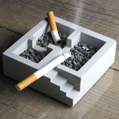 For Architects and Engineers now you can have your own Kiso Foundation Ashtray to display proudly in your office or living room.