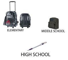 School life timeline