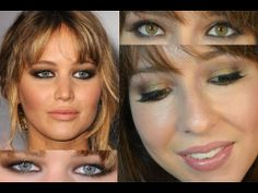 Jennifer Lawrence Hunger Games Red Carpet Makeup Tutorial