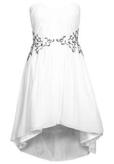 Little Mistress - SWEETHEART - Cocktailkleid / festliches Kleid - weiß
