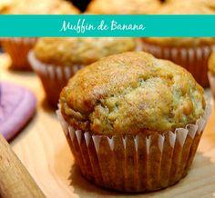 muffin-de-bananaIngredientes: 3 bananas nanicas 2 ovos 1/4 xicara de açúcar 1/2…