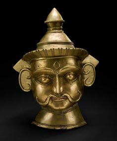 Mask of Mallanna, 18th to 19th Centuries  Indian Art Collection  Peabody Essex Museum