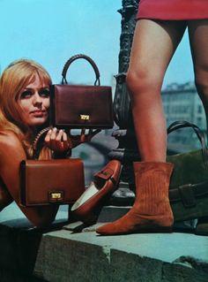 1960s shoe ad