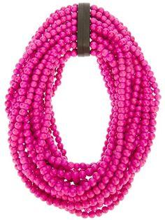 Monies Large Bead Necklace - Bernardelli - mobile.farfetch.com