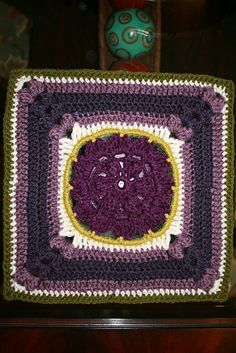 """Blooming Beauty - 12"""" square pattern by Melinda Miller ~ $2.00 pattern ᛡ"""