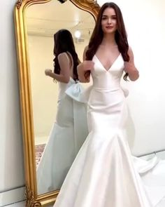 Wedding Dress With Veil, Wedding Dresses, Formal Dresses, Instagram, Fashion, Gowns, Bride Dresses, Dresses For Formal, Moda